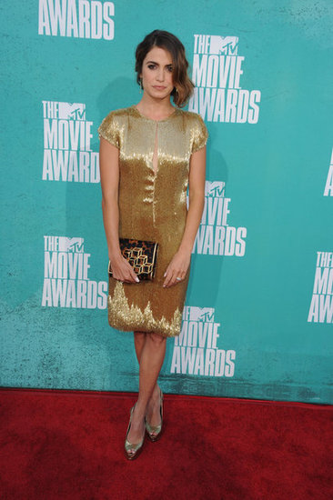 Nikki Reed arrived at the MTV Movie Awards.