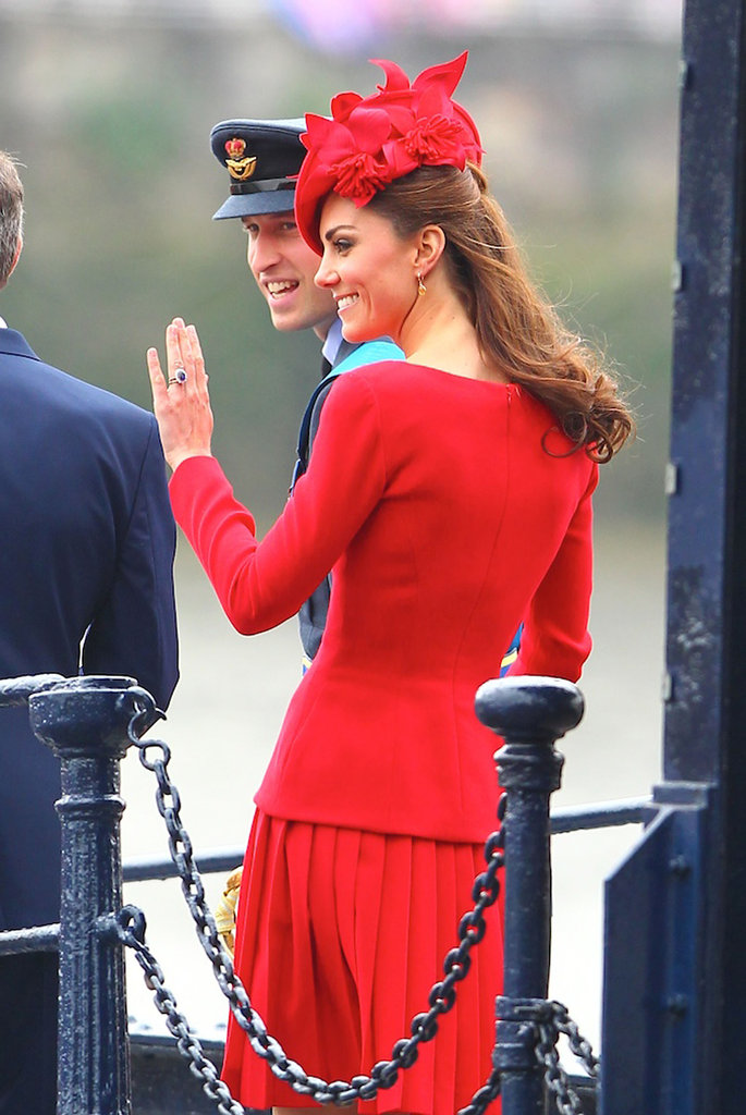 Will and Kate looked adorable at the pageant.