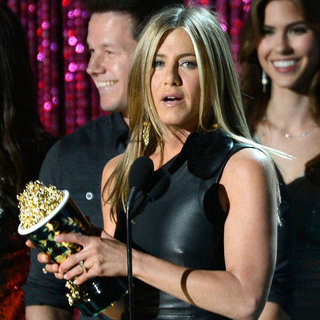 Jennifer Aniston Pictures at MTV Movie Awards 2012