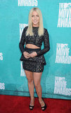 Julianne Hough posed at the MTV Movie Awards.