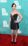 Christina Ricci went strapless for the 2012 MTV Movie Awards.