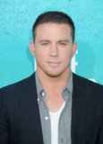 Channing Tatum looked handsome as always.