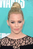 Elizabeth Banks smiled at the MTV Movie Awards.
