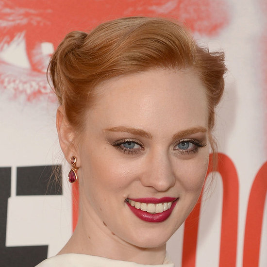 We loved Deborah Ann Woll's plum lip at the True Blood season five premiere in Hollywood this week. Get the look at home with Clinique's High Impact Lip Colour in Red-y-to-Wear ($36).