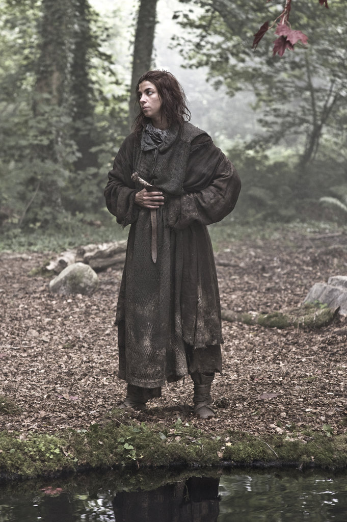 Natalia Tena as Osha on Game of Thrones.