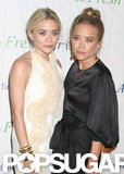 Mary-Kate Olsen and Ashley Olsen were together for the Fresh Air Fund's Spring Gala in NYC.