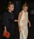 Mary-Kate Olsen and Ashley Olsen were arm-in-arm attending the Fresh Air Fund's Spring Gala in NYC.