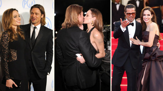 Video: See Angelina's Flirtiest Moments With Brad in Honor of Her Birthday!
