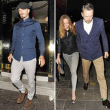 David Beckham Hits the Town With Stella and Talks More Kids!