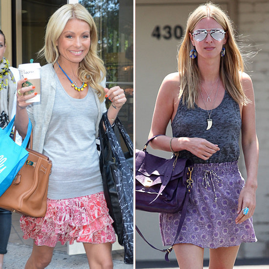 Looking for a way to wear your printed skirts this Summer? Study these two celebrity-approved styles to steal now.
