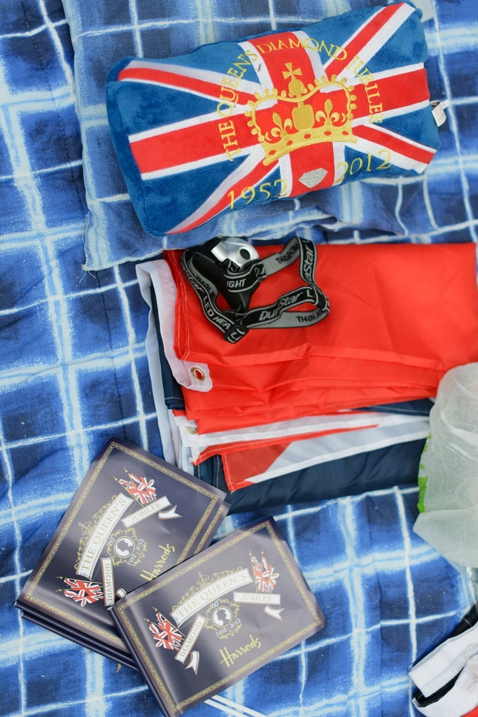 Royal products have been sold ahead of the Diamond Jubilee weekend.