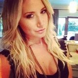 Ashley Tisdale shared a self-portrait.  Source: Instagram user ashleytis