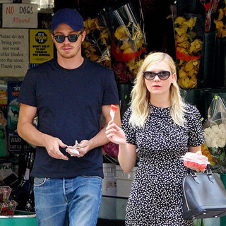 Kirsten Dunst and Garrett Hedlund in NYC Pictures