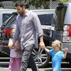 Ben Affleck With Violet and Seraphina in LA Pictures