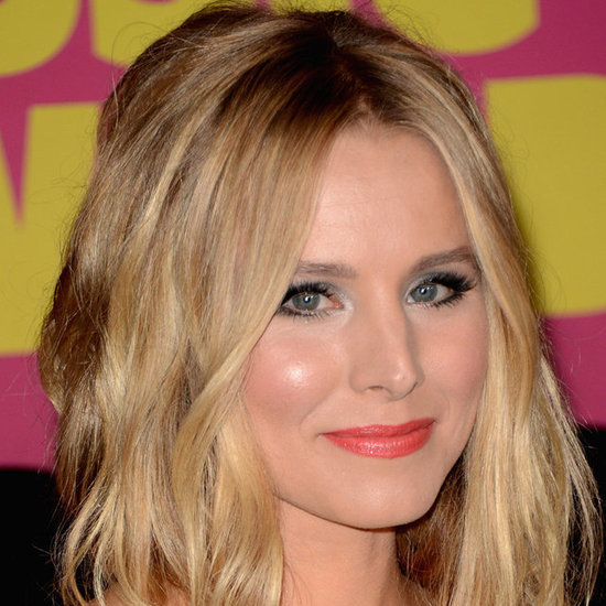 Kristen Bell played co-host at the CMT Music Awards and rocked angelic eyes. She used a small amount of light blue glitter on the inner corners of her eyes. Try Sisley Phyto Ombre Eclat Eyeshadow in Sky Blue ($50) to get the look at home.