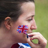 18. Union Jack Face Paint