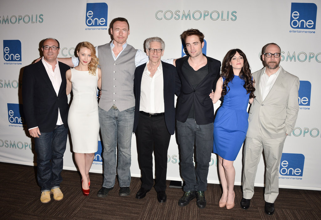 Toronto played host to the cast of Cosmopolis earlier today.
