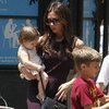 Harper Beckham Pictures Shopping With Victoria Beckham
