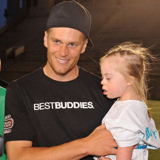 Tom Brady Best Buddies Event Pictures 2012