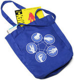 Rock Paper Scissors Lizard Spock Tote ($10)