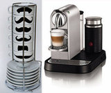 Nespresso Espresso Maker and Mustache Mugs