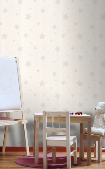 Graham & Brown Stars Paintable Wallpaper ($25/roll)