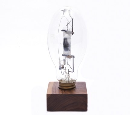 This Reclaimed Factory Lightbulb ($50) would serve as an eye-catching reading light for the bookworm dad.