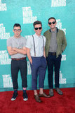 Jack Antonoff, Nate Ruess and Andrew Dost of Fun