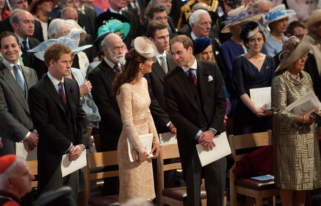 Kate Middleton, Prince William and Prince Harry Rise Early For a Jubilee Mass