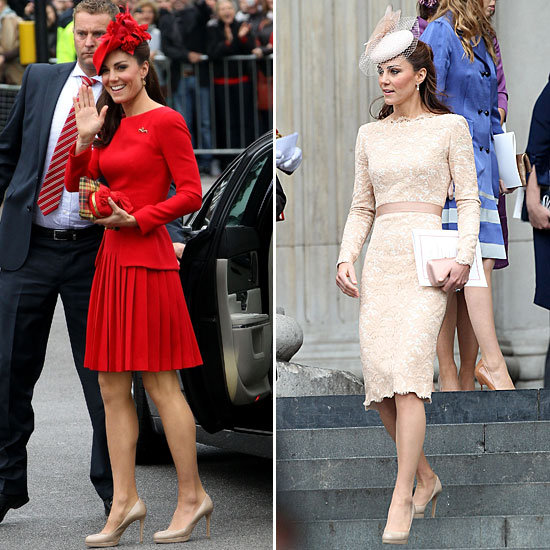 Kate Middleton Lights Up the Queen's Jubilee in Two McQueen Looks — See Every Detail