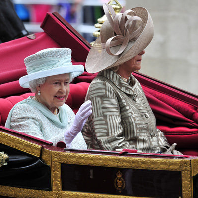 Queen Elizabeth Diamond Jubilee Procession
