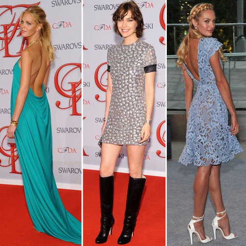Models Storm the CFDA Awards Red Carpet: See Karolina Kurkova, Arizona Muse, Selita Ebanks + More