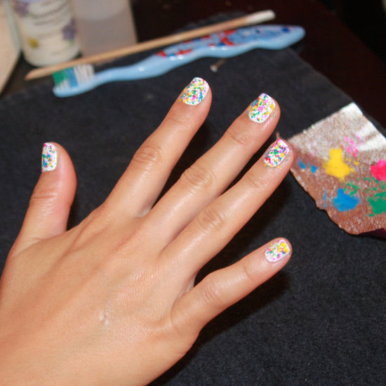 Consider Yourself an Artist With This Graffiti Nail Look