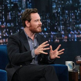 Michael Fassbender Singing on Jimmy Fallon