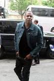 Jay-Z rocked a denim jacket in Paris.