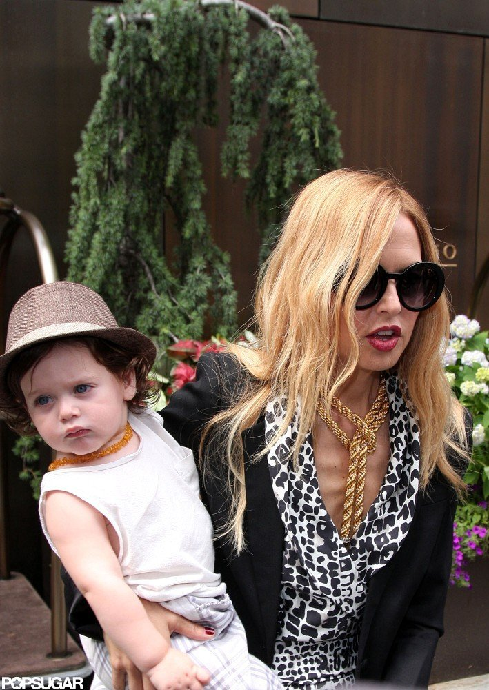 Rachel Zoe and Skyler Berman looked cute together in NYC.