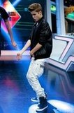 Justin Bieber danced on El Hormiguero.