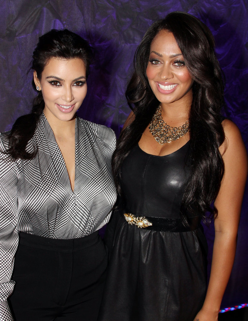 Kim Kardashian and La La Vasquez's friendship goes back many years, and the duo still likes to sit front row at fashion shows, watch basketball games, and hit the red carpet together.
