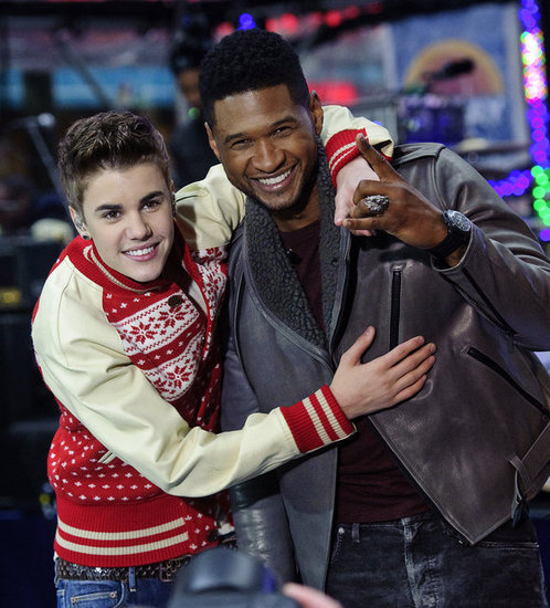 Justin Bieber used to idolize Usher, and now the singer is one of his closest friends. Usher signed Justin to his record label in 2008 and quickly became the teen's mentor. These days the guys love to perform together and shared the stage at the Billboard Music Awards in 2012.