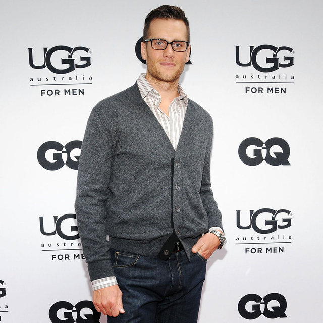 Tom Brady Pictures at Ugg Store Opening in NYC