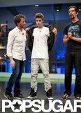 Justin Bieber teased the audience on El Hormiguero.