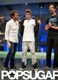Justin Bieber teased the audience on El Hormiguero.