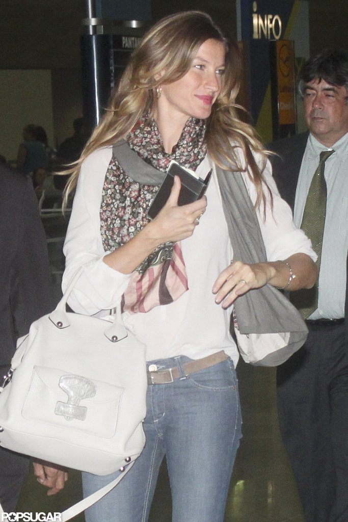Gisele Bundchen left Brazil amid pregnancy rumors.