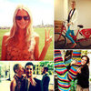 Pictures of Celebrities and Models on Twitter June 7, 2012