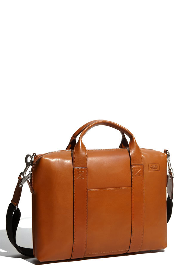 Your dad will love this leather briefcase; it's big enough to hold his files, laptop, and iPad or Kindle, and comes in the perfect buttery cognac color.  Jack Spade Davis Leather Briefcase ($425)