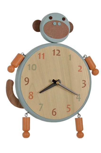 Uncommon Goods Monkey Clock ($46)
