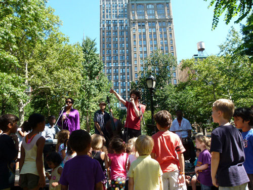 Madison Square Kids in New York City June 12 to Aug. 9