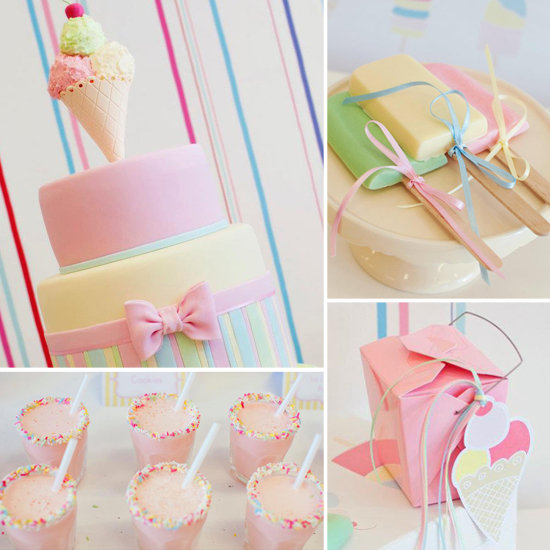 A Pretty Pastel Ice Cream Party!