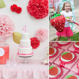 A Fresh Strawberry Shortcake 4th Birthday Party