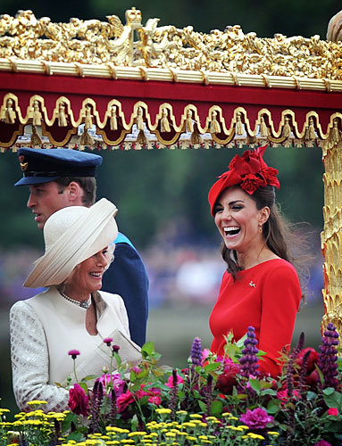 Kate and Camilla Share a Laugh